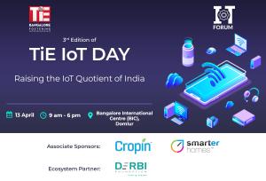 TiE IoT Day 2019 Banner